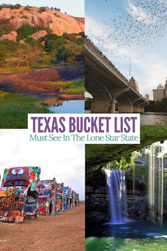 Texas bucketlist